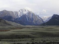 Mount Corruption is located in eastern Idaho's Lost River Range, near the headwaters of the East Fork Pahsimeroi River.
