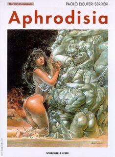 Vrod Harley, Serpieri, Arte Horror, Comics Girls, Pulp Art, Vintage Comics, Pin Up Art, Sci Fi Fantasy, Up Girl