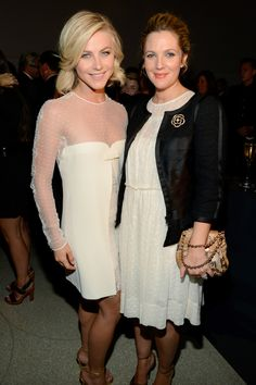 Julianne Hough and Drew Barrymore