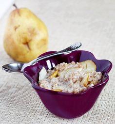 Vanilla Pear Breakfast Cobbler