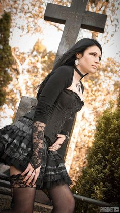 PHRENETICA Photography & Design #gothic #fashion #gothic_fashion #goth