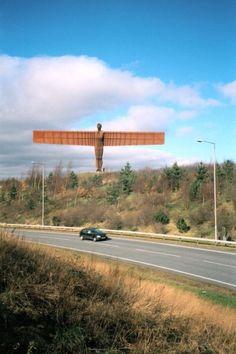 Antony Gormley Angel of the North Durham City, Turner Prize, Angel Of The North, North East England, Antony Gormley, England And Scotland, Cumbria, Land Art, British Isles