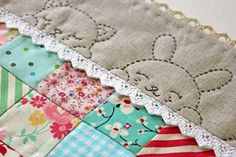 Как сшить детское одеяло из лоскутков своими руками