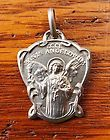ANTIQUE VERY RARE STERLING RELIGIOUS MEDAL ANGEL PRESENT THE BREAD OF ANGEL - http://collectibles.goshoppins.com/religion-spirituality/antique-very-rare-sterling-religious-medal-angel-present-the-bread-of-angel/