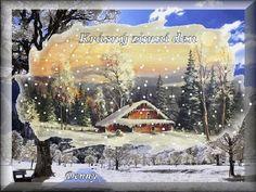 Zima - (ráno,den ,večer) « Rubrika   OBRÁZKY PRO VÁS