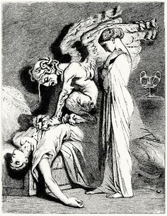 Smarra, or the demons of the night  Tony Johannot, from Contes (Tales), by Charles Nodier, Paris, 1846.