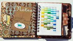 Awesome Copic journal. Print the page layouts and you are ready to roll.
