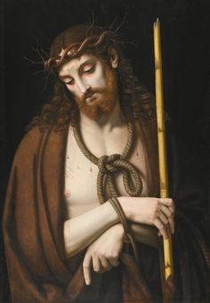 «Ecce Homo» per Studio Andrea Solario (Milan 1465-1524)