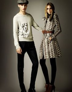 Burberry 2012.     Whimsical Sweater  <3
