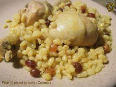 Pilons de poulet au curry, version Cookeo