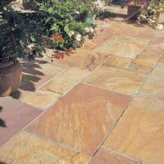 Bradstone, Natural Sandstone Paving Modac Patio Pack - 15.30 m2 Per Pack - Natural Stone - Paving