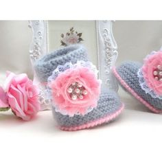 Baby Shoes Baby Girl Booties Baby Clothes Children Booty Winter Baby Uggs $45.00