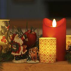 Les bougies à flamme oscillante sont parfaites pour la sécurité des enfants.