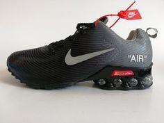 best loved fa934 4f6e4 Mens Nike Air Shox KPU Black Wolf Grey Footwear NIKE-NSZ002746.  NikeSaleZone.com