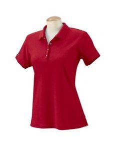 Izod Womens Performance Golf Pique Polo Shirt - Real Red - Medium IZOD. $21.11