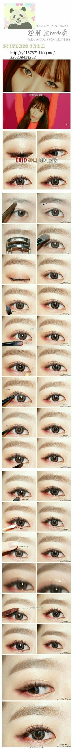 #Makeup #Hani #EXID #Up&Down #Korean #K-pop