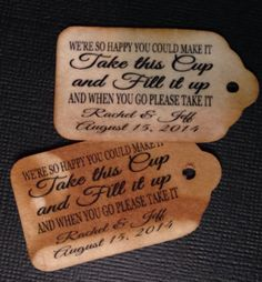 Personalized Fill Your Cup Choose your by TiaZoeyTeaStained