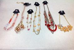 #cmstyle #CM #clothesmentorsarasotasout#chicos  Necklaces left to right:  1st ($6.00) 2nd ($10.00 Chico's) 3rd ($6.00) 4th ($6.00) 5th ($7.50) 6th ($6.00)