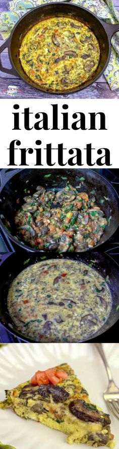 The egg and vegetable medley in this simple frittata is divine. The eggs are soft and creamy. All the veggies pair well together and the Italian seasoning packs a punch of flavor. Quick and easy, this frittata is great for breakfast, brunch or even dinner. #brunch #breakfast #frittata #easybreakfast #brunchrecipe #breakfastfordinner