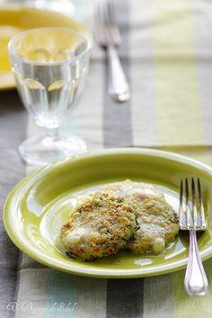 Gnocchi verts à la romaine, mousse légère au beurre