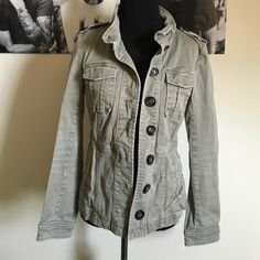 H&M Jacket! Was one of my favorite jackets for a long time. Missing belt and a little faded but still in good condition! ❌Trades ❌PayPal ❌Holds ❤️ Offers welcome through offer button only! Bundle and save! H&M Jackets & Coats