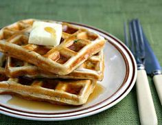 Zucchini Waffles
