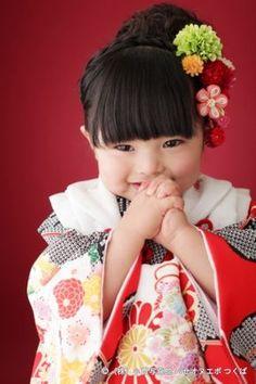 Little Japanese girl. Precious Children, Beautiful Children, Beautiful Babies, Beautiful People, Cute Asian Babies, Cute Babies, Asian Kids, Japanese Kids, Japan Photo