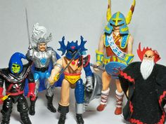 Advanced Dungeons and Dragons action figures