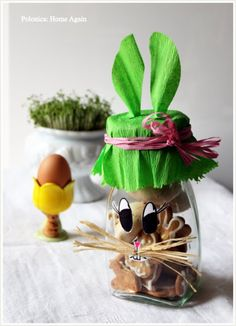 Hostess gift for easter dinner gift ideas pinterest easter easter cookie jar nice hostess gift negle Images