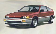 HONDA: Honda CRX