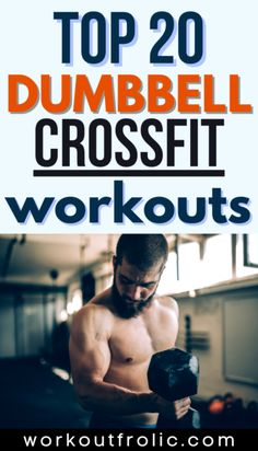 Top 20 Dumbbell Crossfit Workouts to boost your strength and endurance Box Jump Workout, Jumping Jacks Workout, Dumbbell Workout, Kettlebell, Air Squats, Jump Squats, Mountain Climber Exercise, Burpee Box Jumps, Functional Workouts