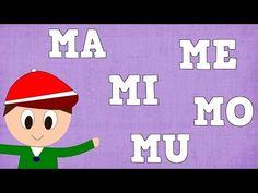 MA , ME , MI , MO Y MU , EN LAS PALABRAS - LECCIONES PARA NIÑOS - ESPAÑOL PARA TODOS - YouTube