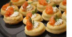 Recette de Mini-Savarins à la truite fumée - i-Cook'in St Honoré, Savarin, Mini, Sushi, Ethnic Recipes, Desserts, Food, Inspiration, Smoked Trout