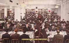 the Moody dining room waaay back in the day