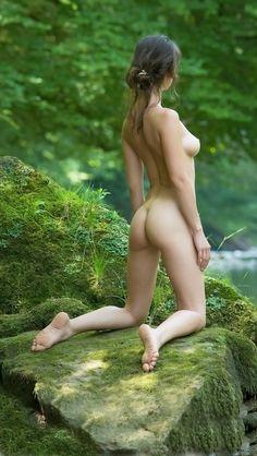 Girls and nature