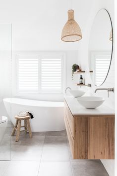 Home Interior Farmhouse .Home Interior Farmhouse Laundry In Bathroom, Bathroom Renos, Master Bathroom, Small Bathroom Renovations, Ensuite Bathrooms, Bathroom Windows, Vanity Bathroom, Bathroom Basin, Wood Bathroom