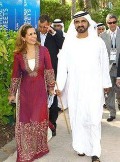Haya bint Al Hussein y Mohammed RSM