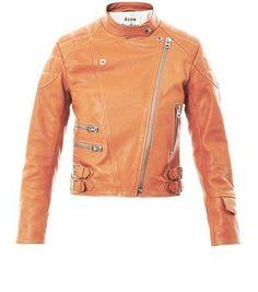 Acne Moi leather jacket on shopstyle.com
