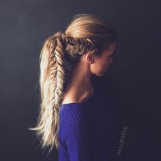 get this look every day of the week using your HALOCOUTURE Ponytail. www.halocouture.com