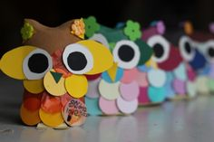 Toilet Roll Owl Craft - Owl Always Love You! Owl Crafts, Easy Crafts, Baby Owls, Owl Babies, Toddler Crafts, Crafts For Kids, Fantasy Forest, Owl Always Love You, Diy Store