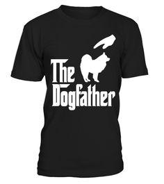 # The-Dogfather-Samoyed-Dog-T-shirt .  The Dogfather Samoyed Dog T shirt