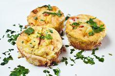 Mini Quiche i muffinsform | Millas Mat
