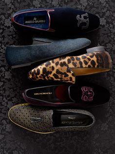 Men's evening slippers... <3 <3 <3