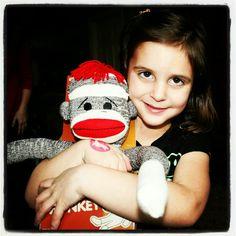 The new sock monkey