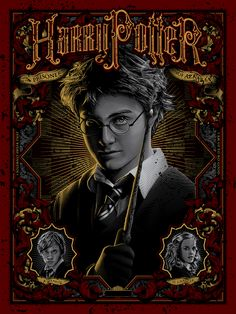 """""""Harry Potter and the Prisoner of Azkaban"""" by Tracie Ching - Hero Complex Gallery"""