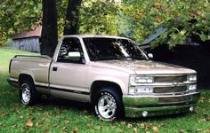 89 Chevy Truck Trucks Modification 1988 Silverado Stepside