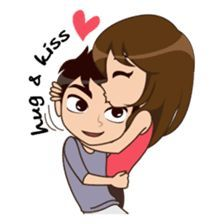 That's my girl usko thinking sa u will not be like that or people have the habbit to thinking worng Cute Couple Drawings, Cute Couple Art, Love Drawings, Cute Couples, Love Cartoon Couple, Cute Love Cartoons, Anime Love Couple, Cute Love Pictures, Cute Love Gif