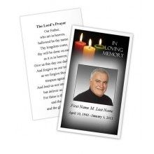 This Versatile Funeral Card Template Makes A Great Memorial