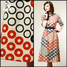 Op Art Pattern Dress