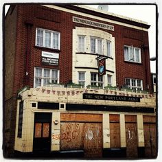 Please support your #local #pub- I hate sights like this #derelictlondon #formerpub #closedown #rundown #England #Britain #UK institution #GreatBritain #English #boozer on a more positive note my lovely #kooky London #iphone #App https://itunes.apple.com/gb/app/kooky-london/id625209296?mt=8 will point out all the wonderful #quirky sights around our #awesome capital #photofthday #photography #iglondon #ig_london #london_only #igers #Padgram